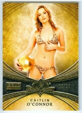 "CAITLYN O'CONNOR ""GOLD BASE CARD #05/24"" BENCHWARMER GOLD 2013"