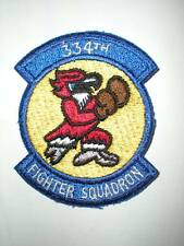 USAF 334TH TACTICAL FIGHTER SQUADRON TFS PATCH -COLOR