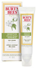 Burt's Bees Organic SENSITIVE Eye Cream With Cotton Extract 10g For Eyes Burts