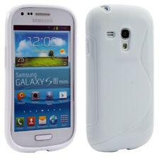 Línea S Wave Tpu Silicona Gel Funda Para Samsung Galaxy S3 & S3 Mini I8190