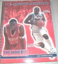 HOUSTON COUGARS Men's 2007-08 Basketball MEDIA GUIDE