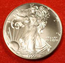 AMERICAN SILVER EAGLE 1999 DOLLAR 1 oz .999% BU GREAT COLLECTOR COIN GIFT