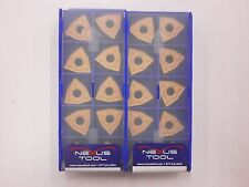 20pc NEXUS Carbide Inserts WNMG 432 DR 351 Indexable Coated Tips Bits 540SO