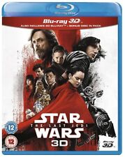 Star Wars: The Last Jedi 3D 3D (used) Blu-ray Only Disc Please Read
