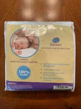 Crib Mattress Protector - Waterproof Material for Baby Sleep Protection.