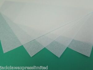 Vellum Parchment White Paper A5 or A6 115gsm Suitable for use with Embossing Mat