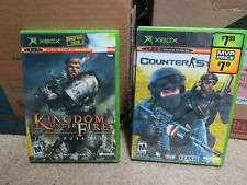 Kingdom Under Fire: The Crusaders Complete + counter-strike CIB Xbox lot Tested
