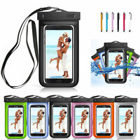 Waterproof Phone Pouch Bag Underwater Dry Case Cover For Apple iPhone 6 7 8 X US