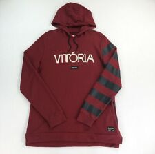 Nike Fußball Vitoria Hoodie Sweatshirt burgund Herren Große