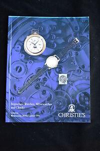 IMPORTANT WATCHES WRISTWATCHES & CLOCK HOROLOGY CHRISTIES CARTIER ROLEX PILLIPPE