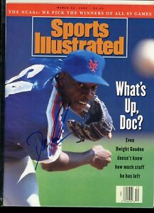 DWIGHT GOODEN NEW YORK METS	NO LABEL Sports Illustrated signed autographed