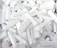 Selenite Satin Spar Crystal Wand Stick Bar 10cm - Premium grade - UK Seller
