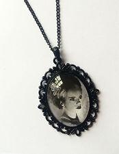 Fatto a mano la moglie di Frankenstein Foto Ciondolo/collana (Goth, HORROR, GOTICO)