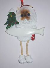 Himalayan-Dangling Legs Cat Christmas Ornament by E&S Pets