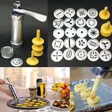 22pcs Biscuit Cookie Maker Extruder Press Machine Cake Making Decorating Set