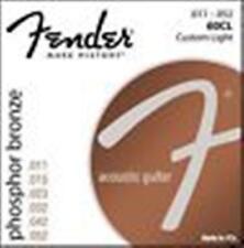 Fender Acoustic 60CL Guitar Strings Phosphor Bronze11's 60 CL Steel String Folk