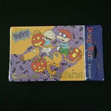 Rugrats Halloween Party 8 Cards Invitations Invites w Envelopes Sealed Carlton