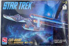 AMT ERTL Star Trek Cut-Away USS Enterprise NCC 1701 (UNSEALED Box)