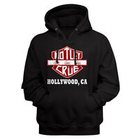 Motley Crue Girls Girls Girls Hollywood CA Adult Pullover Hoodie Heavy Metal
