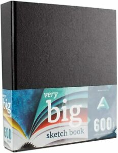 Art Alternatives Sketches in the Making Very Big Hardcover Sketchbook, 600 Pages