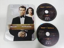 007 JAMES BOND EL MUNDO NUNCA ES SUFICIENTE 2 X DVD STEELBOOK ESPAÑOL ENGLISH