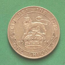 1915 George V Silver Shilling SNo38515