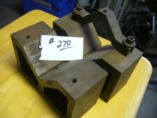 Precision V Blocks Set Of Two 2 6l X 2 12w X 3 12 H With One Clamp