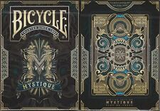 Mystique Blue Bicycle Playing Cards Poker Size Deck USPCC Custom Limited Sealed