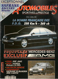 AUTOMOBILES SPORTIVES ET DE PRESTIGE 31 SAFRANE BITURBO MERCEDES 300E 3.4 AMG