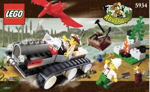lego 5934 Dino Explorer with 2 Minifigures