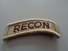 US Airborne Tab Aufnäher Patch desert RECON