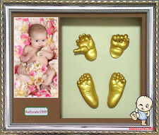 Baby 3D Casting Kit & Shadowbox photo frame 34L x 29W x 6.5Hcm   BC