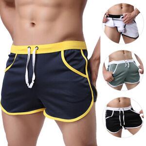 Sexy Men Summer Gym Sports Jogging Short Pants Trousers Casual Half Pants Shorts