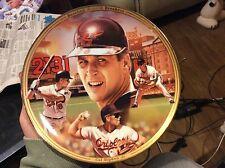 The Bradford Exchange Cal Ripken Jr. Baseball Record Breakers Plate