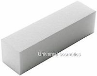 White Nail Sanding Buffer Blocks Manicure 100/100 GRIT- The Edge!