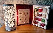 Aroma Lamp Wax Melt Burner White Matte Tree Touch Sensitive Christmas Gift Set