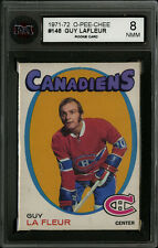 1971-72 1971 OPC O-PEE-CHEE ~#148~GUY LA FLEUR~KSA 8~ROOKIE CARD~HALL OF FAME