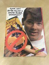 Nintendo Power Ninja Gaiden II Strategy Guide w/ Poster Vol 15 1990