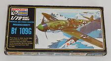 Vintage Model Kit Hasegawa Minicraft Messerschmitt Bf 109G 1/72
