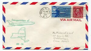 Mohawk Airlines First Flight White Plains New York - Newark New Jersey BAC 1-11