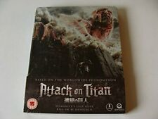Attack On Titan (I) : Limited Edition Steelbook - DVD  A7VG The Cheap Fast Free