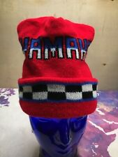 Yamaha Beanie 80s Snowmobile Hat Ski Winter Cap Toque Motorcycle
