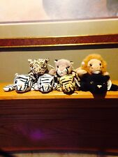 Must Sell !!! TY Beanie Babies Big Cat Collection