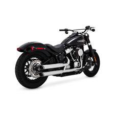 Vance & Hines Eleminator 300 Slip-Ons Chrom, für Harley-Davidson Softail 18-19