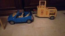 Barbie Auto und Pferdeanhänger