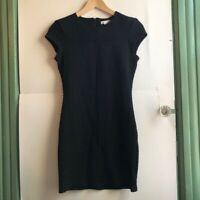 SILENCE NOISE URBAN OUTFITTERS UO Black Bodycon Cutout Short Sleeve Dress Small