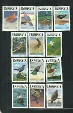 DOMINICA. Año: 1989. Tema: SERIE BASICA. FAUNA. AVES.