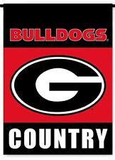 BSI Products 83207 NCAA Georgia Bulldogs 2-sided Country Garden Flag
