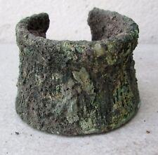 Ancient Khmer Bronze  Warrior Bracelet Bangle