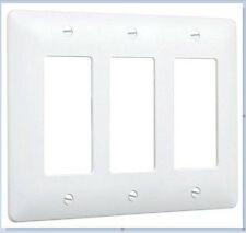 New listing Taymac Wall Plate Cover - 3 Gang white / paintable - 5550W Lot of 5 covers